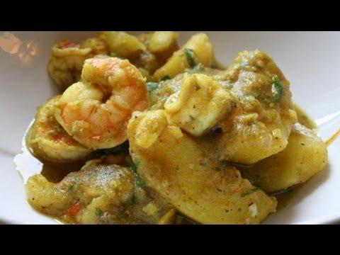 Caribbean Recipe: How to Make Curry Shrimp Trini Style