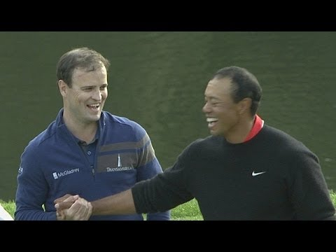 johnson - Check out the top five shots of the week from the 2013 Northwestern Mutual World Challenge featuring Zach Johnson, Matt Kuchar, Bubba Watson, and Tiger Woods.