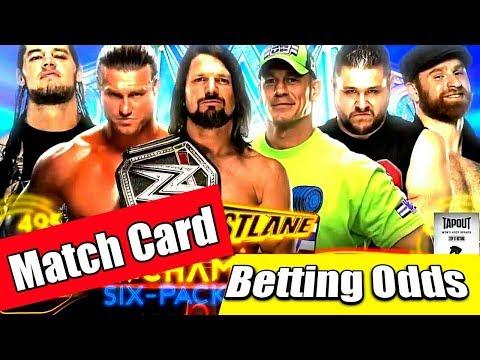 WWE Fastlane 2018 full Highlights   WWE FASTLANE Betting odds  