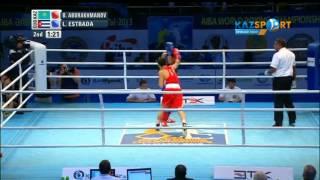 Бокстан ӘЧ. Берік Әбдрахманов (60 кг) Лазар Эстрадоға қарсы