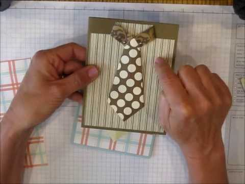 Easy Shirt with Tie card:  This is an older video from my first YouTube channel that shows how easy it is to create a shirt with tie card, perfect for Father's Day, Graduation or any occasion that requires a masculine card :-)  More ideas at www.keenankreations.com.  You can also shop for Stampin' Up! products at www.brendakeenan.stampinup.net (just click the