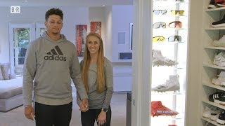 Patrick Mahomes' Dream House Has Closet with 180 Pairs of His Favorite Shoes