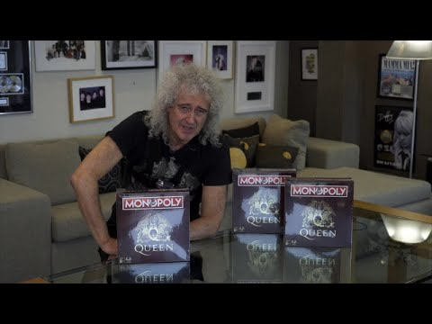 Brian May Releases Epic Queen Monopoly Unboxing Video
