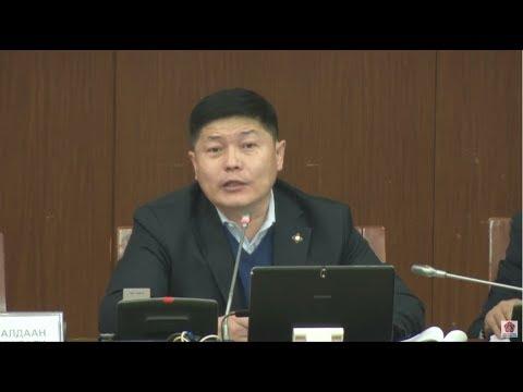Х.Нямбаатар: Химийн зэвсэг болон тэлэгч сум хэрэглэсэн тохиолдолд дайны гэмт хэрэгт тооцдог болно