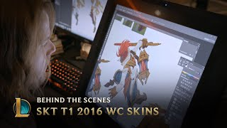 Video Making the SKT T1 2016 World Championship Team Skins | League of Legends MP3, 3GP, MP4, WEBM, AVI, FLV November 2018