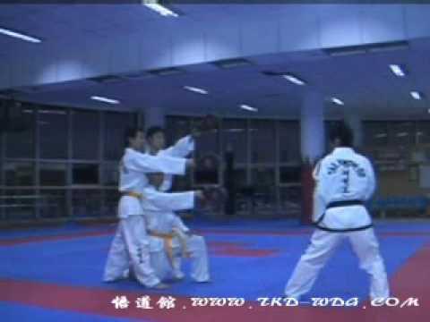 Техника Таэквон-До Ji Lei III Dan ITF (China) - 2