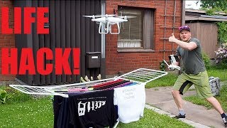 We tested out the most expensive drying machine ever phantom 4 pro drone. You can order your own HPC shirt's from our fan ...