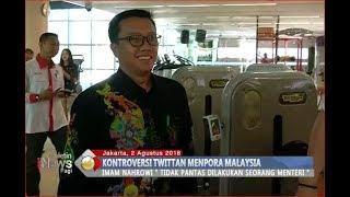 Video Tak Pantas! Imam Nahrowi Akhirnya Angkat Bicara Terkait Twittan Menpora Malaysia - BIP 03/08 MP3, 3GP, MP4, WEBM, AVI, FLV Desember 2018