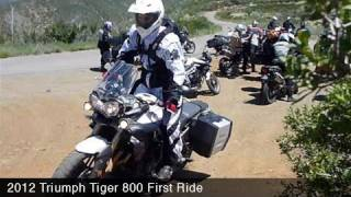 5. MotoUSA 2012 Triumph Tiger 800 First Ride