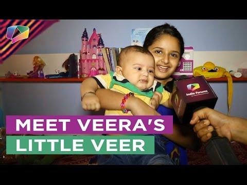 Harshita Ojha introduces to her baby bro