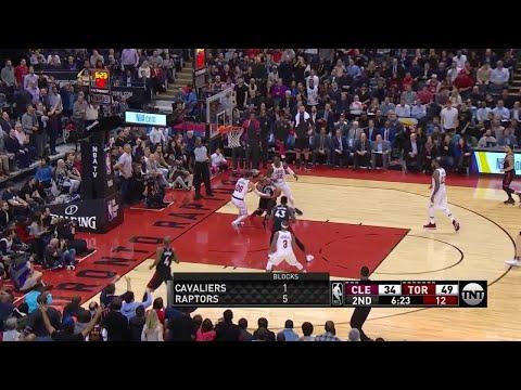 2nd Quarter, One Box Video: Toronto Raptors vs. Cleveland Cavaliers