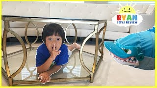 PET SHARK Pretend Play Chase and Hide and Seek! Family Fun Kids Playtime Compilation Video with Ryan ToysReview! Ryan's Family have a fun time chasing around by sharks, dinosaurs, gators and more! Fun Kids activities for the whole family!Bad Kid Steals Giant Chocolate Bunny Candy and escape Jail IRL! Family Fun Kids Pretend Playtime https://youtu.be/eNM_fGDc_zY?list=PLasCX3wfxLR0zX6fndBSePp03--N5pZBwGIANT SPIDER ATTACKS sleeping mommy! Bad Kid prank mommy and daddy pretend play SKIT https://youtu.be/5AQRhEN2z7k?list=PLasCX3wfxLR0zX6fndBSePp03--N5pZBwMcDonald's Drive Thru Prank Bad Daddy! Babies Kids Ride On Car + McDonald's Indoor Playground https://youtu.be/yiFCSpGYWbc?list=PLasCX3wfxLR0zX6fndBSePp03--N5pZBwCLUMSY GRANDMA magic wand transform! Daddy trap inside a box spider attack pretend play funny skit https://youtu.be/I6FJ7bPhwnc?list=PLasCX3wfxLR35yWoGxSFBpSLgvi6ElOL1CLUMSY GRANDMA magic wand transform twin babies into Poop Emoji magical spell pretend play funny https://youtu.be/ho3O45t0fbc?list=PLasCX3wfxLR35yWoGxSFBpSLgvi6ElOL1Dr. Ryan farting Giant Bear shot in tummy Doctor Check up syringe injection pretend play https://youtu.be/ZhohW6u1QRg?list=PLasCX3wfxLR0Yy2JiYptRJruJE4wAh-THPet Shark Toy Videos , Pet Shark Attack and Pet Gator Attack!https://www.youtube.com/playlist?list=PLasCX3wfxLR0k62Qk6SYbdmUK9wRXFRZ1PET GATOR ATTACK! Playing Chase and Hiding at Playground for Kids Egg Surprise Toys Kids Prank https://youtu.be/DoulGkVCAbc?list=PLasCX3wfxLR0k62Qk6SYbdmUK9wRXFRZ1Feeding Pet Shark Play Doh snack and Poop Slime! POO Surprise Toys for kids! Kids Prank Toys https://youtu.be/VCXujDuR8j0?list=PLasCX3wfxLR0k62Qk6SYbdmUK9wRXFRZ1Bad Santa Pet Shark Attack! Magic transform into Christmas Present! Kid Prank Toy Shark eat Snack https://youtu.be/B944azbCw5M?list=PLasCX3wfxLR0k62Qk6SYbdmUK9wRXFRZ1PET SHARK ATTACK! Playing Chase and Hiding Family Fun Activities for Kids Toy Shark Pretend Playtime https://youtu.be/bCIPS0ezLLk?list=PLasCX3wfxLR0k62Qk6SYbdmUK9wRXFRZ1T