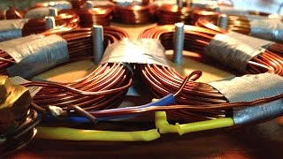 How to make Stator Coil for homemade vertical axis diy wind turbine vawt pma generator stator coilsVideo Link: https://youtu.be/v8nczRWI2dcUpcoming Links:#how to make a stator for wind turbine#how to wind a stator coil#how to make coils#how to build a wind turbine#how to calculate coils for stator #how to wind wire coilsplease SUBSCRIBEHow to make Stator Coil for homemade vertical axis diy wind turbine vawt pma generator stator coilsVideo Link: https://youtu.be/v8nczRWI2dc