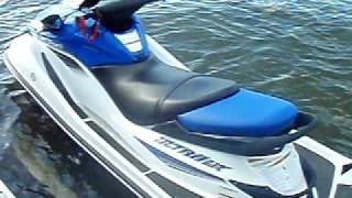 9. Start the 2007 Kawasaki Ultra LX Jet ski
