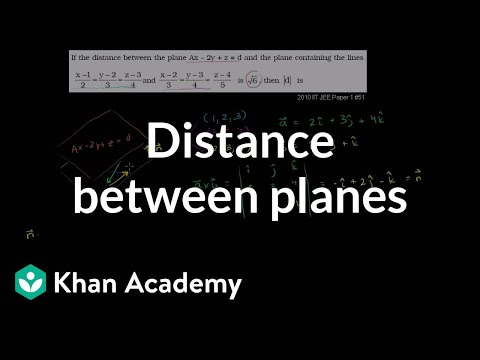 Distance Between Planes