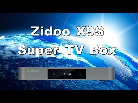 Zidoo X9S Realtek RTD1295 Quad Core Android 6.0 Super Advanced TV Box