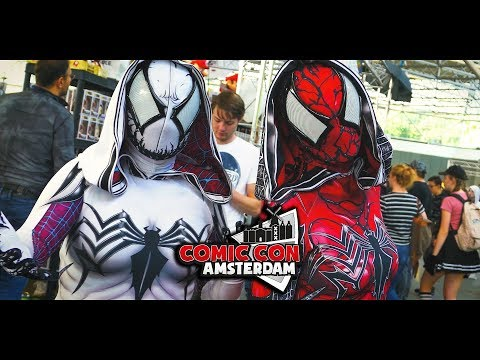 Comic Con Amsterdam 2018 Netherlands Cosplay Music Video