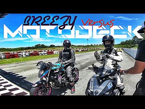 MOTODECK VERSUS BREEZY ANG TUNAY NA NANGYARI / TEAM GRAPHITEE TRACKDAY