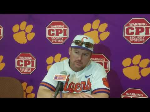 TigerNet.com - Monte Lee on splitting DH with Wake - 4.22.17