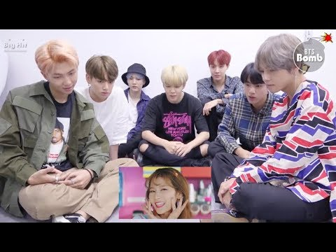 Video [BANGTWICE] BTS reacts to