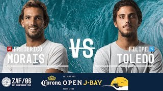 Frederico Morais battles Filipe Toledo in the Final at the 2017 Corona Open J-Bay. #WSL #jbay Subscribe to the WSL for more...