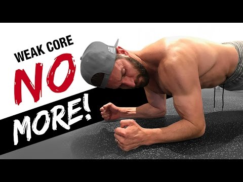 A Single 'Ab Test' for a Stronger Core (and how to do a plank CORRECTLY!)