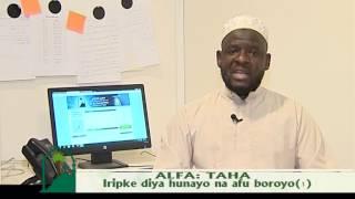 Iripke diya hunayo na afu boroyo1 تعامل النبي مع أهل بيته.