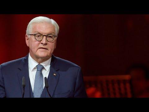Steinmeier Deutsche Einheit вniemals wichtigerв als heute