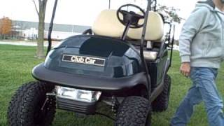 6. 2005 Club Car golf cart - KAWASAKI GAS - PRECEDENT - 25 MPH