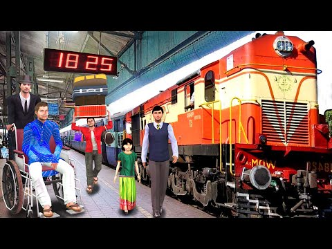 ट्रेन यात्र हनीमून Train Yatra Honeymoon Comedy Video हिंदी कहानिय Hindi Kahaniya Funny Comedy Video