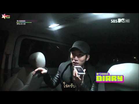 [thaisub]121204 BTOB - B+DIARY EP2 part1 (видео)