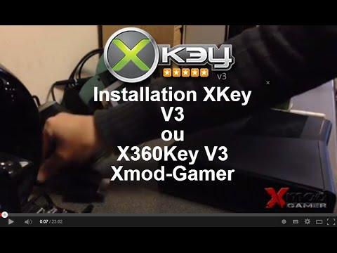 comment installer xkey