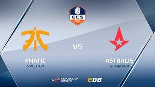 Astralis vs fnatic, map 2 train, ECS Season 2 Europe