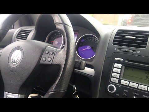 Stock VS Magnaflow Exhaust BIG Sound Difference VW GTI 2.0T