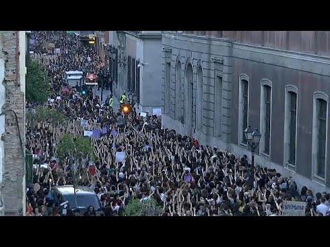 Pamplona: Proteste gegen Urteil im