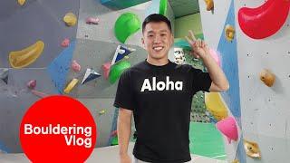 My rock climbing gym in Korea by Bouldering Vlog
