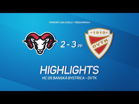 13. forduló: Banská Bystrica - DVTK Jegesmedvék 2-3