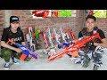 LTT Nerf War : Captain SEAL X Warriors Nerf Guns Fight Criminal Group Defend Dangerous Arsenal