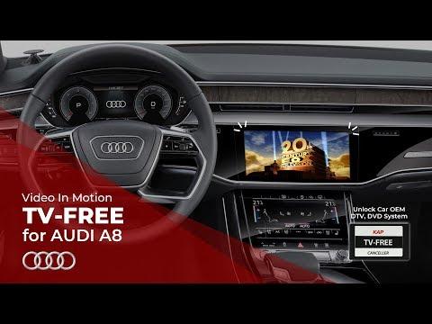 TV FREE AUDI A8 2018 (VIM)