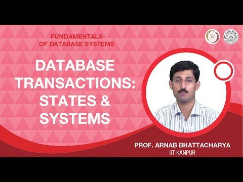 Database Transactions: States and Systems
