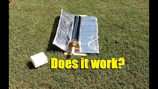 July 24, 2017 - Got this Rand Solar solar oven in today and began testing it. The GoSun stove is $280 on Amazon...and has all the...