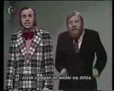 Tekst piosenki Ivan Mladek - Jozin z bazin po polsku