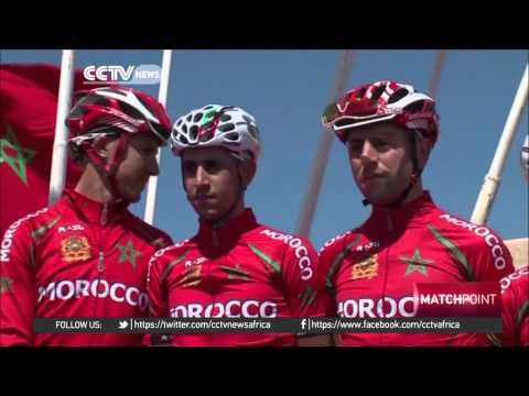 Moroccan national cycling team prepares for the Olympics