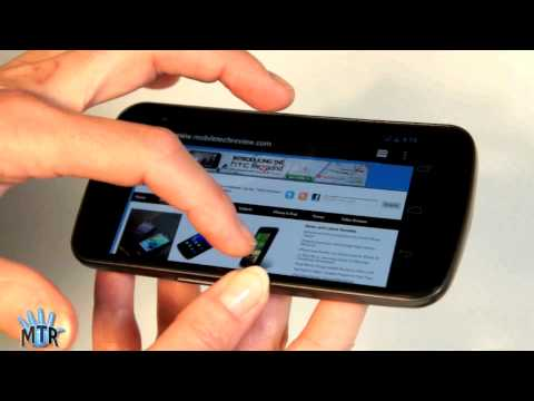 Samsung Galaxy Nexus Review - A video review of the Samsung Galaxy Nexus Android 4.0 smartphone. This is the international GSM/HSPA+ version of the phone, the first Android phone to run A...
