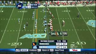 Quinton Coples vs Miami 2011