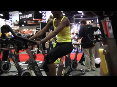 Evo Fitness Bike at IHRSA 2012 in Los Angeles
