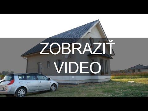 Video: Nový rodinný dom v Nitre, časť Lukov Dvor