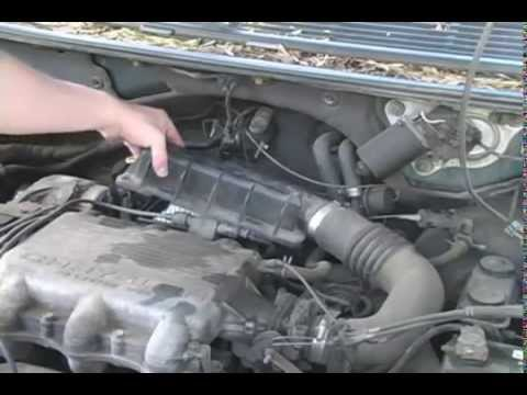 Replace the Air Filter in a 1991-1995 Dodge Caravan