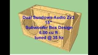Video Dual Sundown Audio Zv3 15″ Subwoofer Box Design MP3, 3GP, MP4, WEBM, AVI, FLV Juni 2018