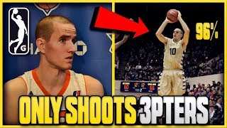 Video This Hooper ONLY Takes THREE POINTERS And ALMOST Made The NBA! | Best SHOOTER You've NEVER Heard Of! MP3, 3GP, MP4, WEBM, AVI, FLV April 2019